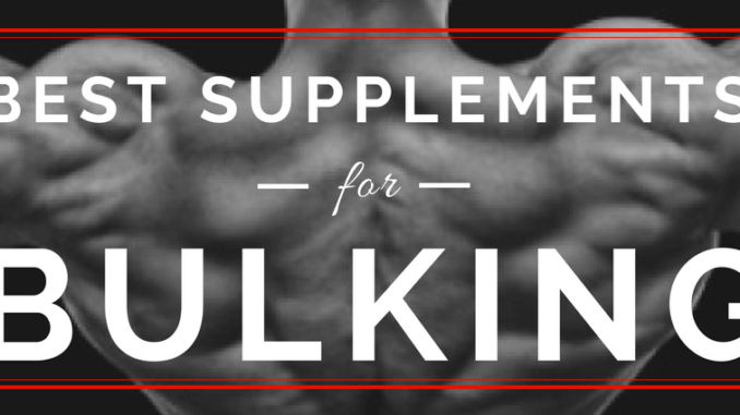 bodybuilding supplements for bulking