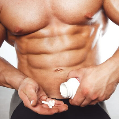 Supplements like steroids